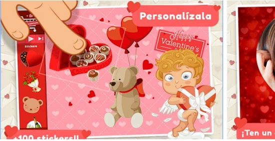 Aplikasi Android Bertema Valentine