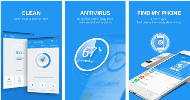 Minta aplikasi security 36o 360 Security Antivirus Boost Android Apps on Google Play