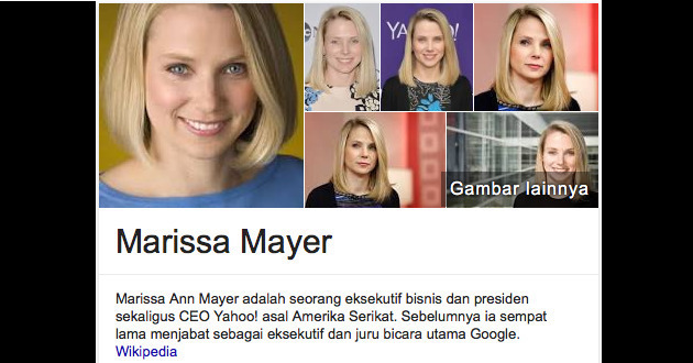 Marissa Mayer CEO Yahoo