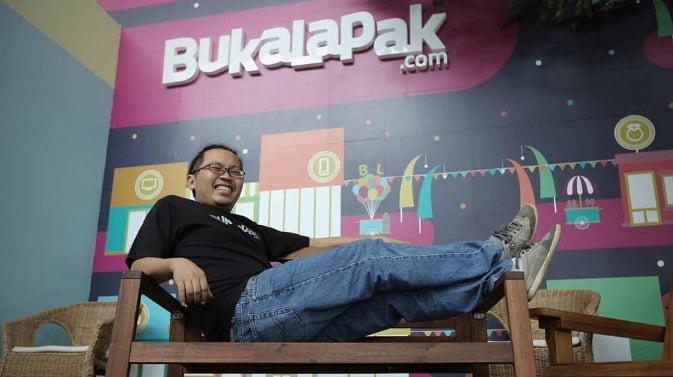 CEO Bukalapak.com Achmad Zaky