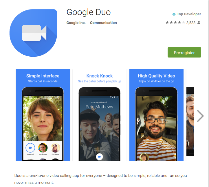 Google Duo - Android Apps on Google Play 2016-08-17 14-24-56
