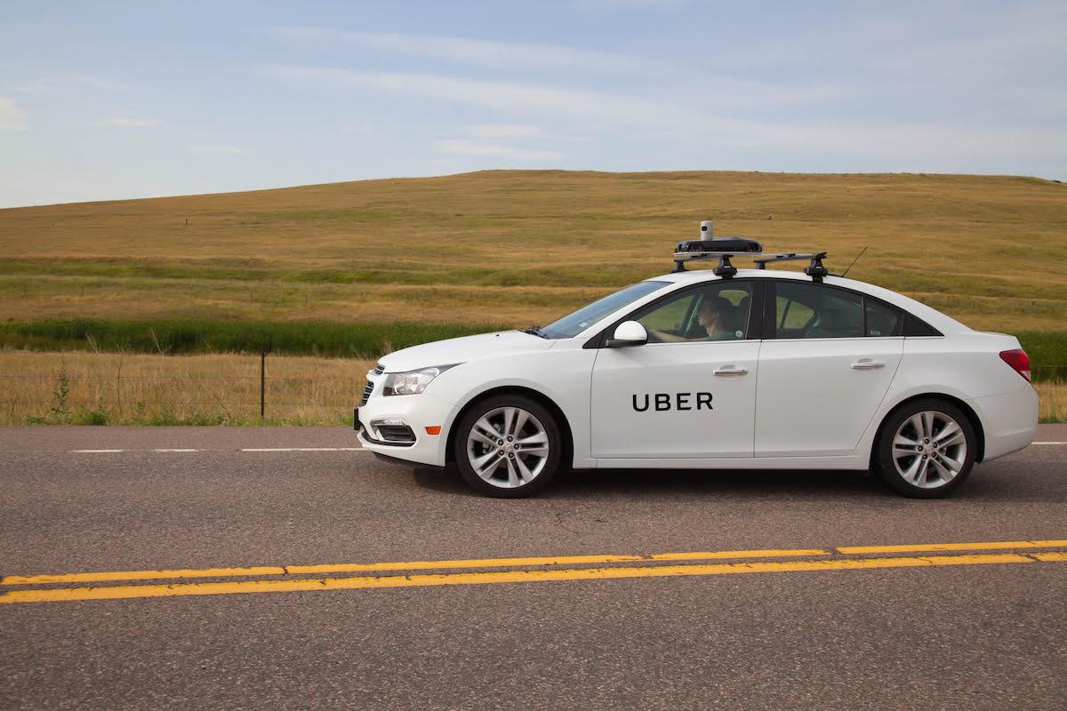 Mobil Pemetaan Uber