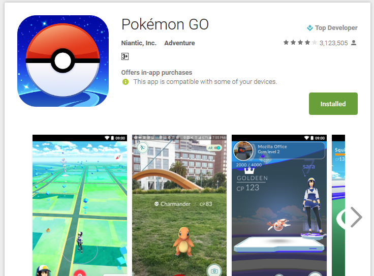 Pokémon GO - Android Apps on Google Play 2016-08-06 17-17-06