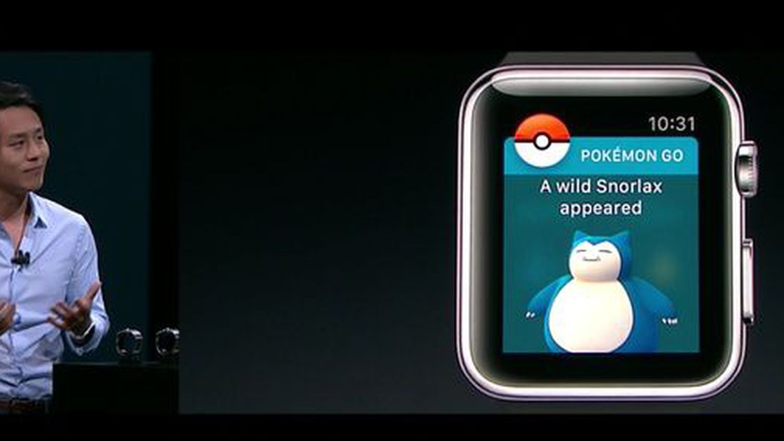 Pokemon Go di Watch OS | www.cnet.com