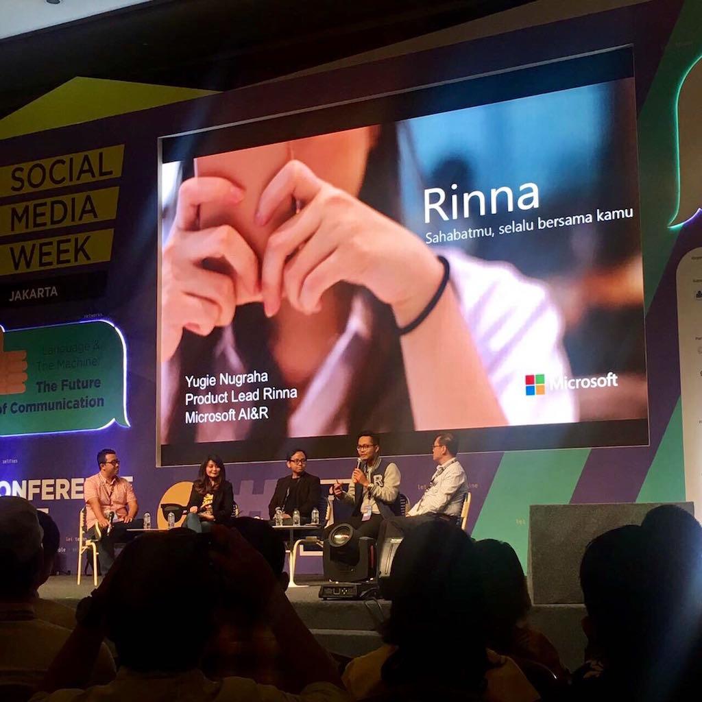 RINNA Social Media Week 2017