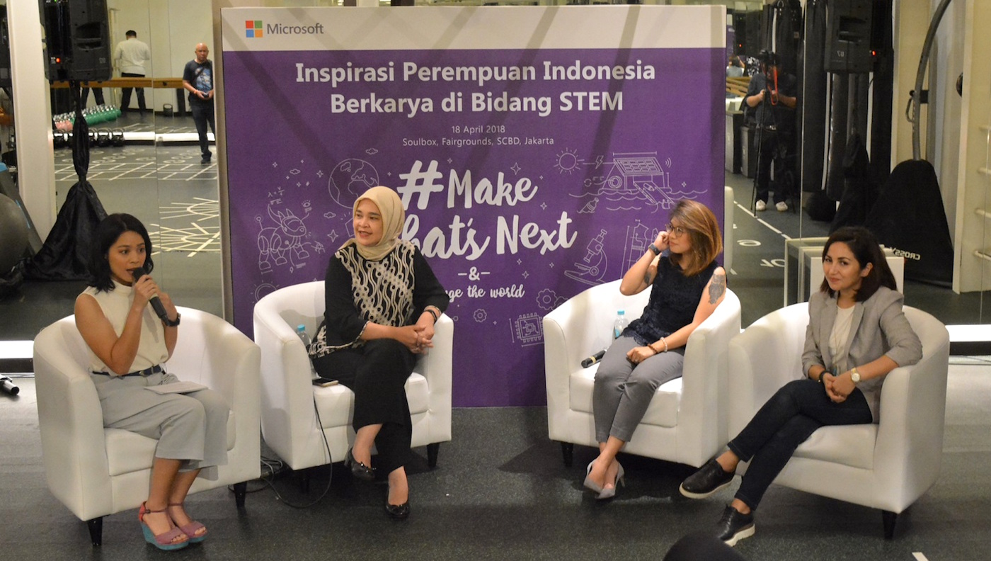 Event MakeWhatsNext Microsoft di Indonesia
