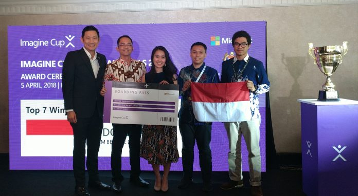Indonesia Melaju ke Final Dunia Microsoft Imagine Cup 2018