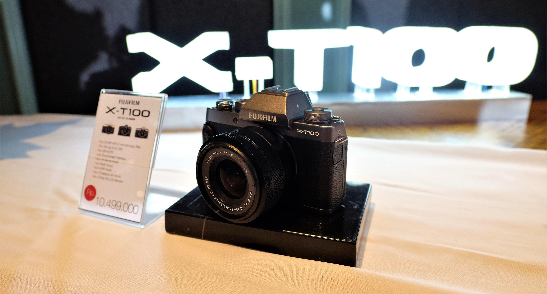 kamera mirrorless X-T100