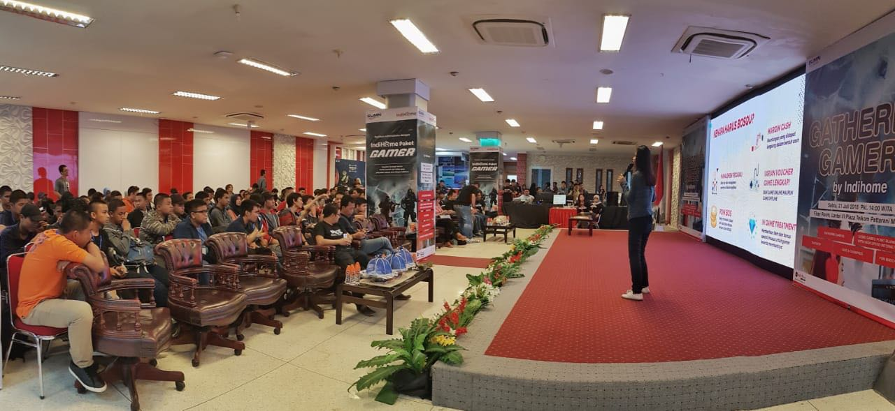 CMO Bosqu Menyampaikan Sambutan di Jakarta