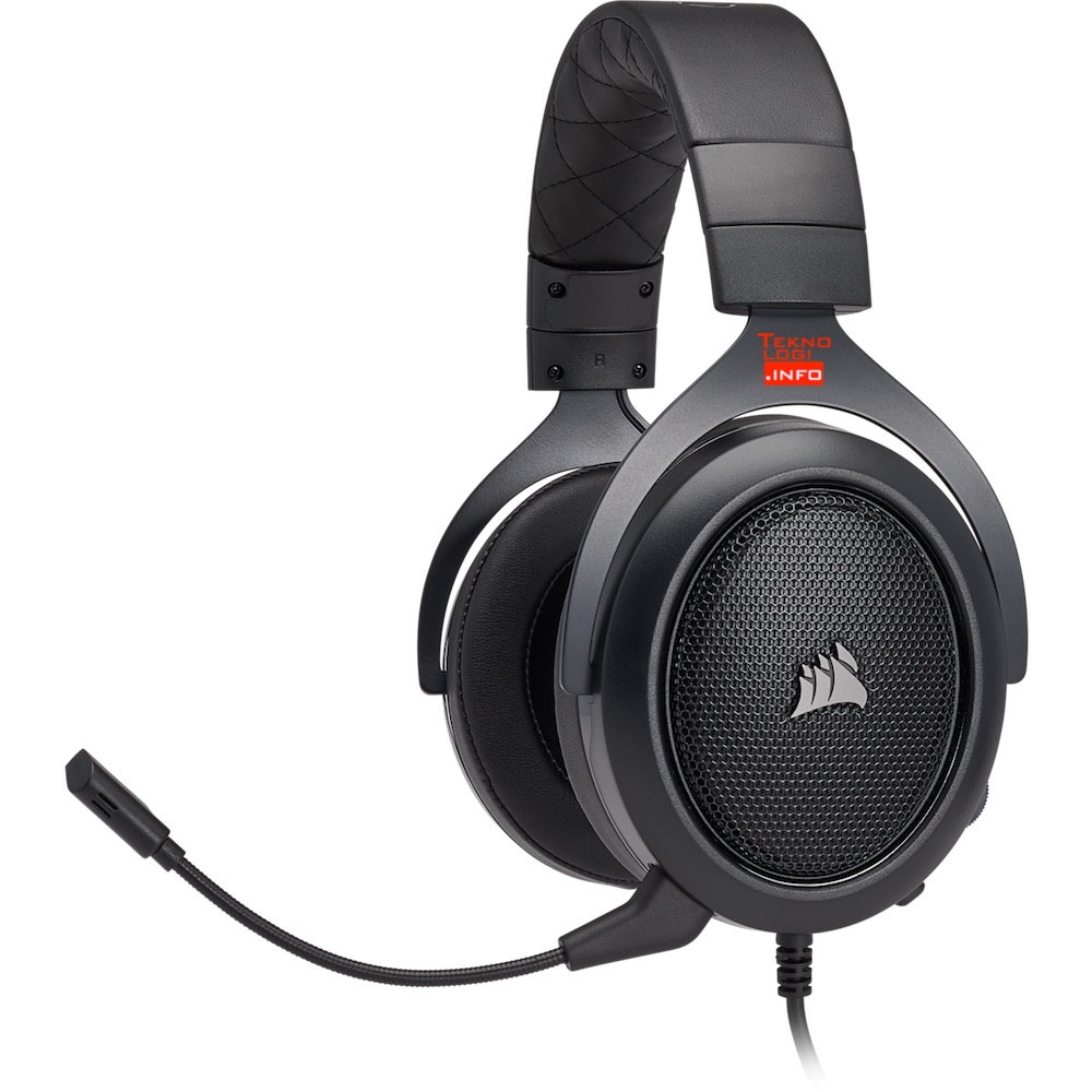 HS50 Stereo Gaming Headset Carbon
