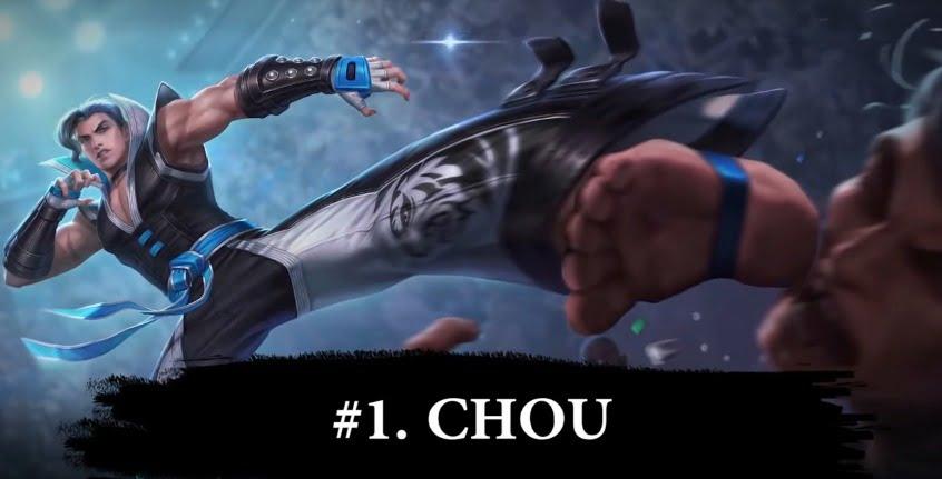 Chou hero buat solo rank