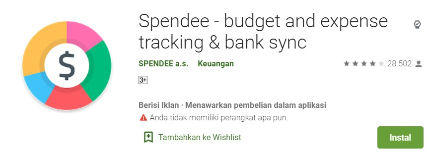 Spendee budget and expense tracking bank sync
