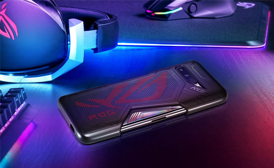 Asus ROG Phone 3 cooling window