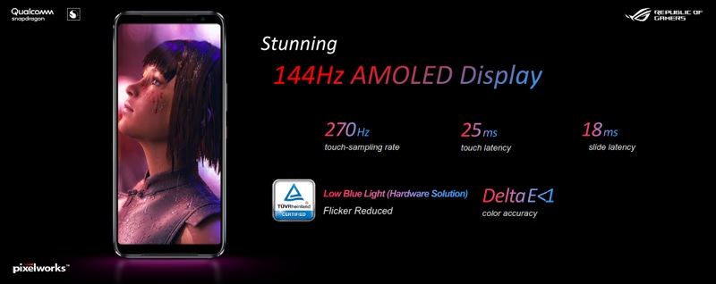 144Hz Amoled Display