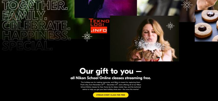 Nikon School Online Free online courses for the holidays