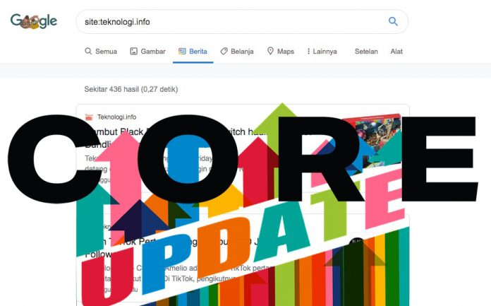 Google Core Update Desember 2020